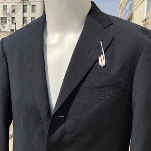 bc1cf1b863501f Boglioli Suits & Blazers - New Navy Boglioli Italy Wool 3 Button Jacket 48R